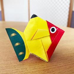 黄ぶな折り紙