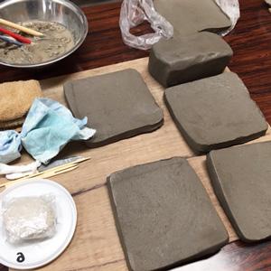 はじめての粘土