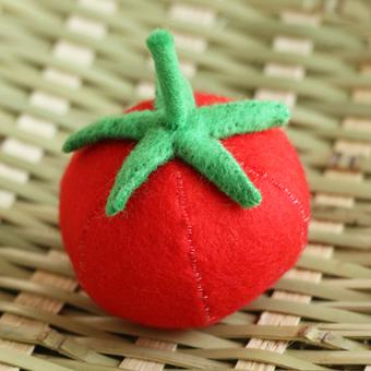 フェルトのトマト